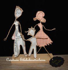 sculpture de ficelle décor chambre enfant  par etlabobinettecherra