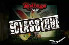 Claastone en vivo este viernes 23  de mayo en el #Rolingscuenca  #RockandRollfromHell @Rock Fusión