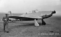 Arado Ar-96, a low wing, all metal monoplane, was the advanced trainer of Luftwaffe during WWII.