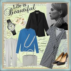 Life Is Beautiful, Hair Styles, Casual, How To Wear, Blue, Color, Fashion, Hair Plait Styles, Moda