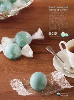 "EOS Lip Balm: ""Mint Candy"" Print Ad  by Juniper Park, Toronto"