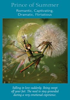 Oracle Card Prince of Summer | Doreen Virtue | official Angel Therapy Web site