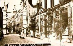 Burgstraat #Gorinchem 1914 foto Tukker