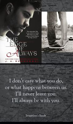 Jacqueline's Reads: The Edge of Always (The Edge of Never #2) by J.A. Redmerski