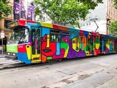 Cathy Travelling - Melbourne Tram