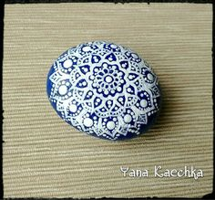 Check out this item in my Etsy shop https://www.etsy.com/listing/492084941/hand-painted-mandala-stone-winter-fairy