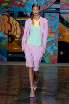 The Best Looks from New York Fashion Week: Spring 2014 - DKNY