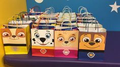 Paw Patrol Party Bags!!