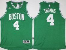 9dfa89868 Boston Celtics Jersey 4 Isaiah Thomas Revolution 30 Swingman 2014 New Green  Jerseys