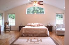 Master Bedroom Addition..love the windows