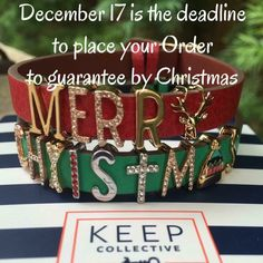 If you are looking to purchase gifts this is the deadline. KEEP in mind that we may run out of stock on keys you have your eye on if you wait though! #gifts #christmas #whatsonyourlist #shop #shopping #onlineshop #jewelry #jewelrylover #linkinbio #independentdesigner #askmeaboutKEEP #keepcollective