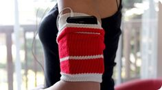DIY: Make Your Own MP3 Player Armband