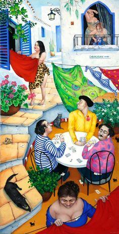 The game ~ Svetlana Kalachnik ~ Galerie Knud Grothe