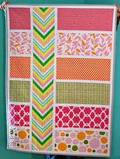 Colorblock Quilt Pattern