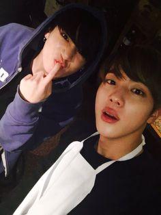 Kookie and Jin 151230 ^_^