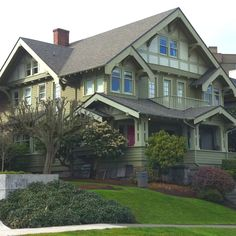 My dream house is alive and well in Tacoma Washington. I think it's a craftsman...<3