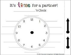 It's About Time! as seen on Sixth Grade Staff    www.sixthgradesta...
