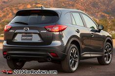 2016 Mazda CX-5 SUV rear view  http://2015carreviews.com/2016-mazda-cx-5-release-date-specs-redesign/