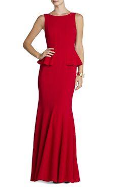Elegant Red Dress.