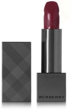 """Burberry Beauty's 'Bright Plum No.426' lip color is inspired """"by the most opulent of English fabrics."""" Designed to glide on effortlessly, this richly pigmented formula delivers full coverage in just one stroke. It has a creamy, soft matte finish that feels light as air."""