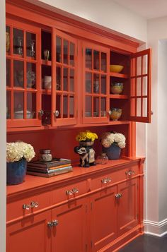 """Person wrote: """"Love the unexpected color!"""" Excuse me, what's so unexpected about standard cabinet color?"""