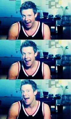So sweet, handsome, funny and goofy! We miss you, Cory Monteith