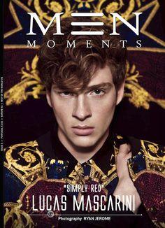 Male Fashion Trends: Lucas Mascarini en portada de Men Moments #3