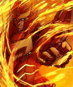 Rodimus<<< Then the fire nation attacked...