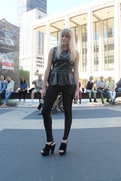 SPOTTED: EVERYONE WEARS BLACK IN THE CITY | bevogued blog