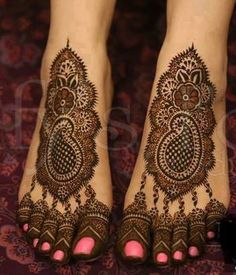 Hands And Feet Bridal Mehndi