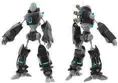 I changed the colours and other stuff already, this is an old render, but this is basically the idea of my robot for my assignment 3D2. Hope you like it! Comments dont cost money and they make my d...