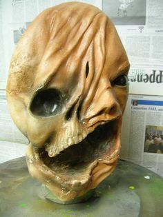 Latex Mask Zombie two faces Carnival by LaBottegaDelNonSoChe, €50.00