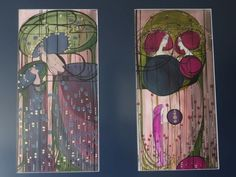 Catawiki online auction house: Diptych by Leyla Salm Design