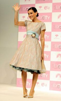 """Sarah Jessica Parker Promotes The DVD Release Of The Final Season Of """"Sex And The City"""" In Tokyo"""