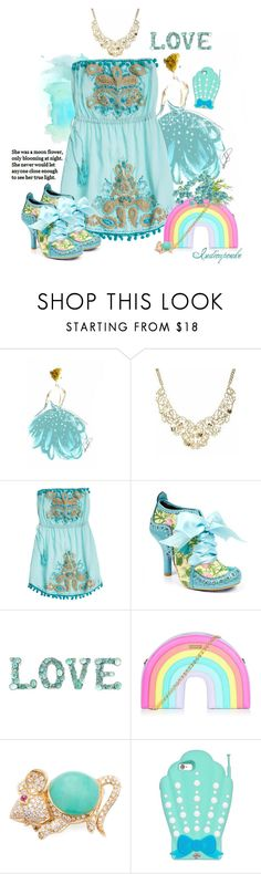 """Summer Cinderella"" by indicupcake ❤ liked on Polyvore featuring Disney, Calypso St. Barth, Irregular Choice and Giovane"