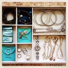 12 Week Organize Now! Challenge – Jennifer Ford Berry – Week 3: Organize Your Bedroom Closet (Organize Now! Pages 158-161) #Organized #jewelrybox  - www.tapaslifestyle.com #organizenow - Tapas Lifestyle @Author-Organizer Jennifer Ford Berry