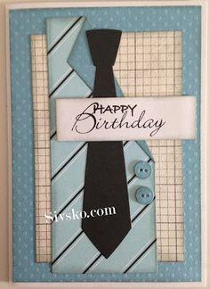 Så er der lidt fra mig igen. Jeg har endelig fået taget billeder af det jeg lave da madammerne var samlet en søndag i januar. Først vil je... Masculine Birthday Cards, Masculine Cards, The Artist Prince, Greeting Cards, Men's Cards, Cardmaking, Fathers Day, Stampin Up, Birthdays