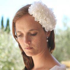 #Haaraccessoire #bruid #bruidskapsel #weddinghair #bride / www.witenzilver.nl