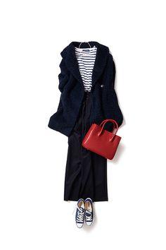 イメージはジェーンバーキンのリラックスしたムード 2015-11-29 | trousers price :22,680 brand : TOMORROWLAND/BACCA