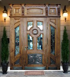 Элитная входная дверь. Wood DoorsBarn DoorsFront DoorsDoor PanelsDoor  DesignHomesGatesNailHardware
