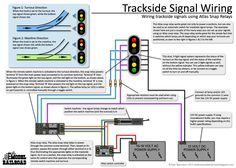 How to wire trackside signals using an Atlas snap relay and LED lamps to show turnout positions.