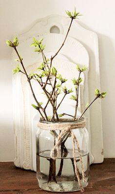 Nous avons hâte d'être au printemps ! Voici 10 magnifiques idées de décorations printanières pour votre intérieur... - DIY Idees Creatives