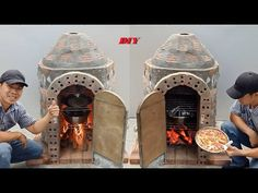 Como construir um forno multiuso em casa, Técnico para construir um forno de pizza em casa - YouTube Build A Pizza Oven, Build Your Own House, Cement Crafts, Wood Fired Oven, Outdoor Cooking, Decoration, Building A House, Purpose, Youtube