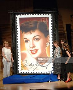 Photo d'actualité : The Judy Garland commemorative postage stamp is...