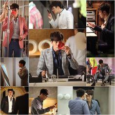 "Handsome Actor So Ji Sub Checks Himself Out in His Compact Mirror on ""Master's Sun"" Set Korean Drama Movies, Korean Actors, Korean Dramas, Celebrity Smiles, Master's Sun, Touch Love, So Ji Sub, Handsome Actors, Kpop"