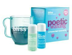 Bliss - Poetic #Waxing At-Home Hair Removal Kit. #beauty #skincare