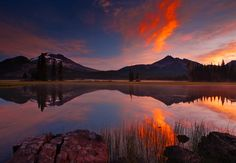 Sparks Lake - I may have to add this to my list of places to visit when I travel to the West in the USA.