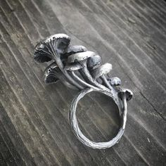 Mushroom patch  ring