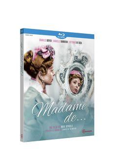 The Earrings of Madame de ... [Blu-ray]: Amazon.fr: Charles Boyer, Danielle Darrieux, Vittorio De Sica, Jean Debucourt, Jean Galland, Mireille Perrey, Max Ophüls: DVD & Blu-ray