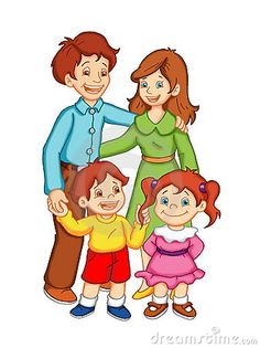 Illustration about Illustration of a happy and united family. Illustration of family, smiling, color - 13441968 Preschool Family, Preschool Activities, Family Relationship Chart, Cartoon Familie, Family Clipart, Drawing Competition, Human Drawing, Little My, Happy Family
